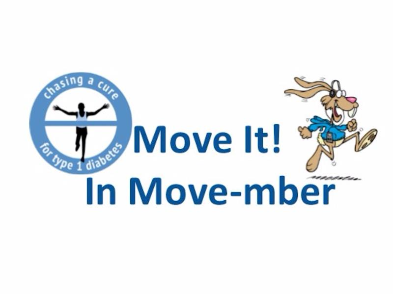 Move-mber - Chasing a Cure for Type 1 Diabetes - Givealittle