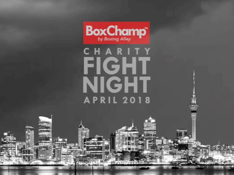 BoxChamp™ presents Charity Fight Night - Givealittle