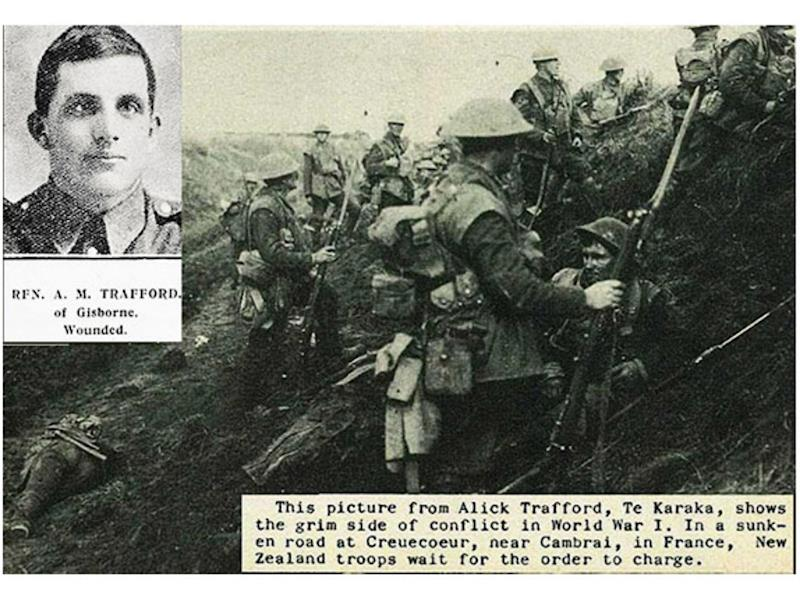 ANZAC, Alick Trafford's Emotional and Honest WW1 Diaries  - Givealittle