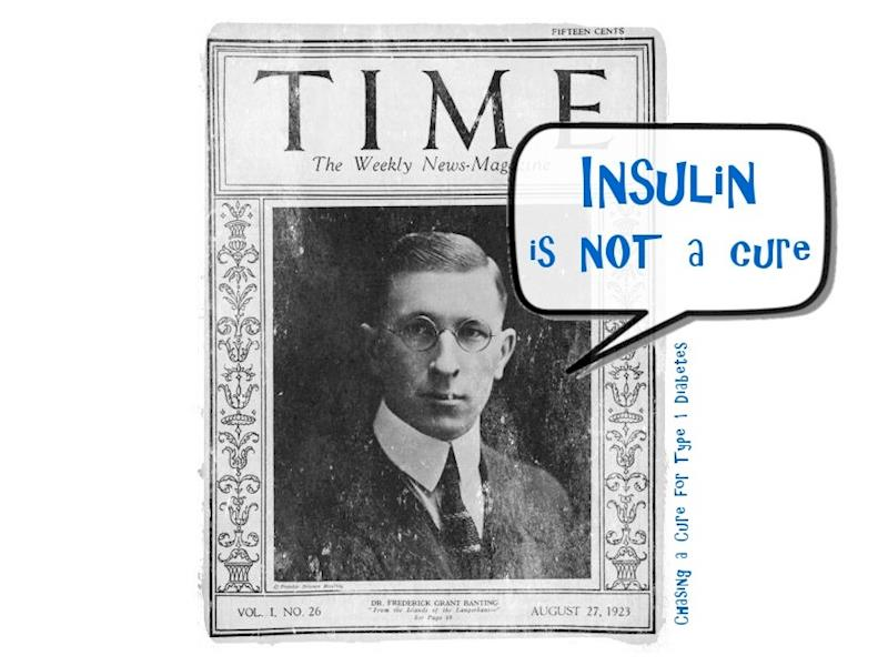 Insulin is not a cure - Givealittle