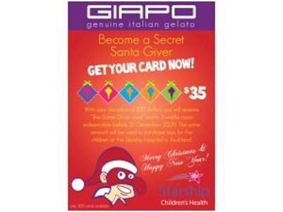 become a virtual secret santa giver givealittle