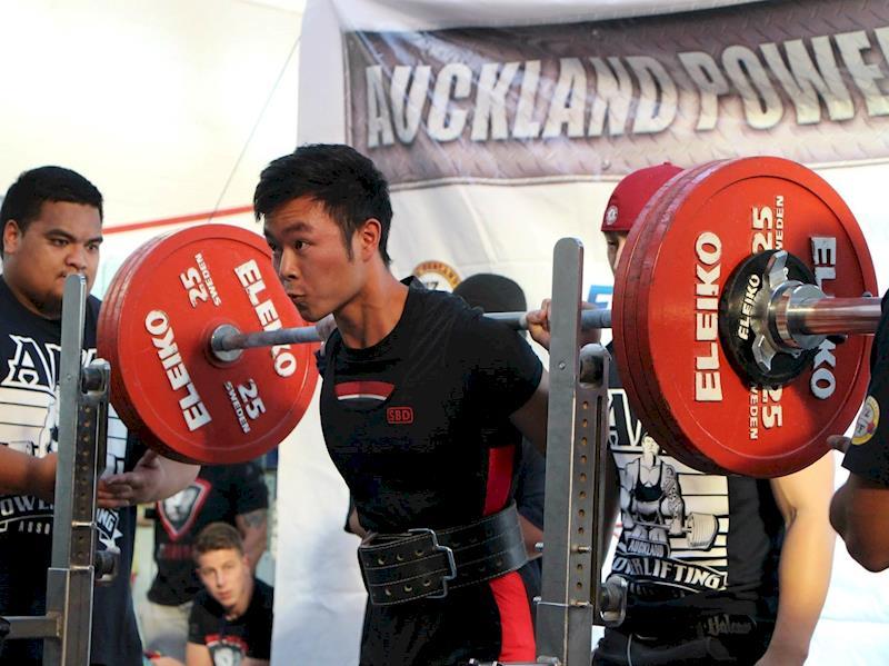 Asian power lifting
