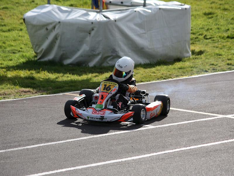 Help Logan race in Italy at the International ROK cup Kart Final ...