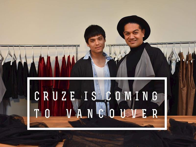 Vancouver Clothing Designers | Cruze Fashion To Appear In Vancouver Fashion Week Showcase 2018