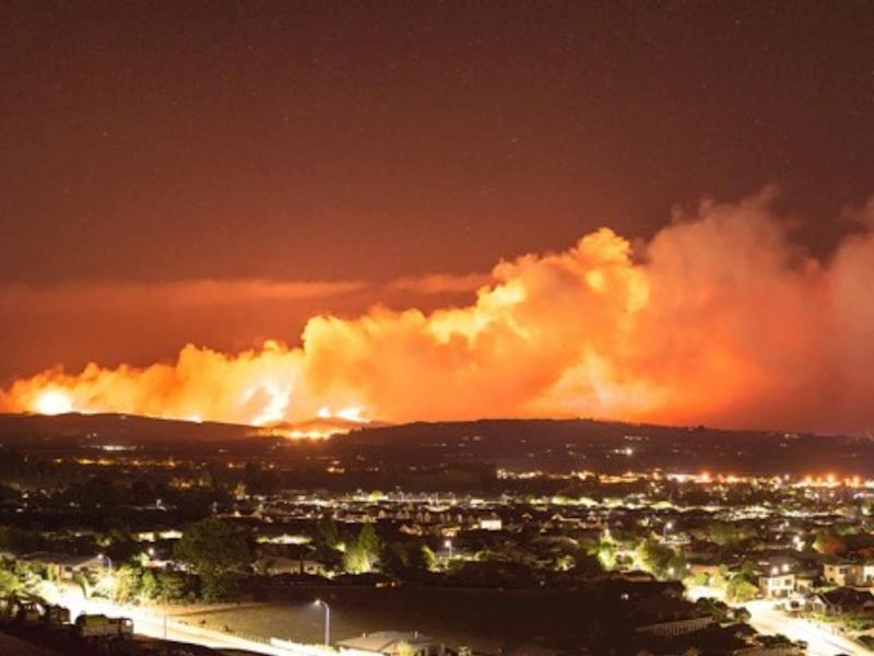 New Zealand Update: 2019 Nelson Bush Fires Destroying Property And Forcing